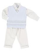 Pretty Originals shirt|trouser|knitted sleeveless jumper PO.BB 5007