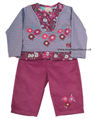 Everyday Kids Girls 2 piece Outfit Top | Trousers 7060