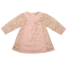 Everyday Kids Baby Girls Floral Smock Dress 7115