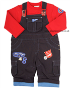 Everyday Kids Boys Dungaree Set 7103