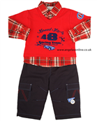 Everyday Kids Baby Boys 2 Piece Outfit 7104