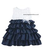 Sarah Louise Girls Tiered Dress 8874