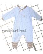 Absorba Baby Boys Teddy Bear Babygro 9A54161