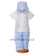 Co Co Boys Outfit - Shirt | Long Leg Trousers | Hat 4578