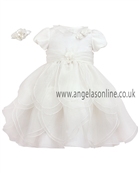 Sarah Louise Baby Girls Ivory Christening Dress 9166iv