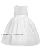 Sarah Louise Baby Girls Ivory Christening Dress 9169iv