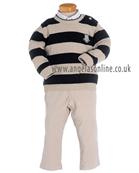 Tutto Piccolo Boys Jumper, Shirt & Trousers 4829 | 4028 | 4128