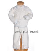 Pretty Originals Baby Boys Two Piece Set with Socks JP64180