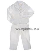 Bimbalo Baby Boys Ivory 3 Piece Suit 2596