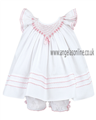 Sarah Louise Baby Dress 9224 white