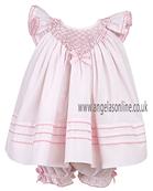 Sarah Louise Baby Dress 9224 Pink
