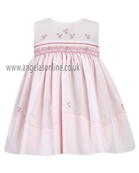 Sarah Louise Girls Dress 9247 PK/WH