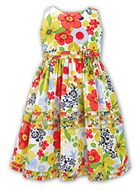 Sarah Louise Girls Dress 9374 Multi