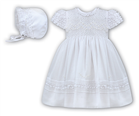 Sarah Louise Girls Dress 198 White