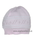 Pex Girls Polly Hat B5568 PK/WH