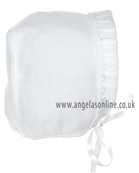 Pex Girls Bonnet B3333 White