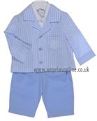 Little Darlings Boys 3 Pce TS8850 Blue