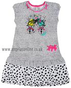 Deux Par Deux Girls Dress C90