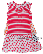 Deux Par Deux Girls Dress E95 Pink