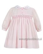 Sarah Louise Girls Dress 9481 Pink