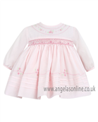 Sarah Louise Baby Girls Dress 9472 Pink