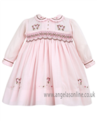 Sarah Louise Girls Dress 9499 Pink