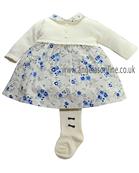 Emile et Rose Baby/Toddler Girls Navy Winter Dress Daphne 6243nv