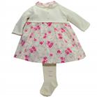 Emile et Rose Baby/Toddler Girls Pink Winter Dress Daphne 6243pp