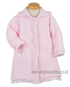 Pretty Original Baby Girls Coat JP96140 PK/WH
