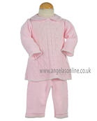 Pretty Original Baby Girls/Toddler Knitted Top & Trousers JP96260 Pk