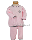 Pretty Original Baby Girls Top & Trousers JP94260 PK/GR