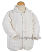 Pretty Originals Baby Boys Jacket JP95120 Cream