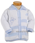 Pretty Originals Baby Boys Jacket JP90120 WH/BL
