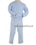 Tutto Piccolo Boys Sky Blue Jumper & Trouser 6712/6128