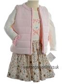 Sarah Louise Girls Top/Skirt & Gilet D4619/4620/4622