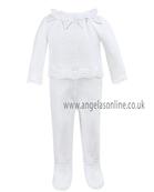 Sarah Louise Baby Girl 2 Pce 868 White