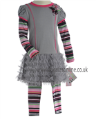 Kate Mack Girls Dress & Legging 700/707SS