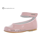 Andanines Girls Pink Patent Leather Shoe T17542