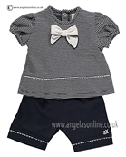 Emile et Rose Baby Girls Top and Shorts Elora 5294nv