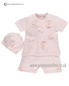 Emile et Rose Baby Girls Top and Shorts Ella 5295pp