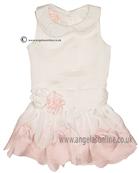 Kate Mack Baby Dress 331BGA Ivory