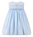 Sarah Louise Girls Dress 9710 Blue