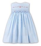 Sarah Louise Girls Dress 9710 Blue