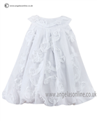 Sarah Louise Baby Dress 9690 White