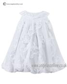 Sarah Louise Baby Dress 9690 White