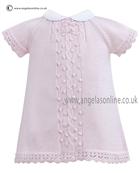 Sarah Louise Baby Girls Dress 9765 Pink