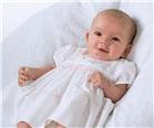 Sarah Louise Baby Dress 9680 WH/PK