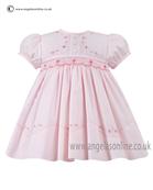 Sarah Louise Baby Dress 9699 PK/PK