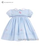 Sarah Louise Girls Dress 9708 Blue