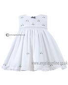 Sarah Louise Baby Dress 9820 WH/NY